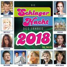 Die Schlagernacht Des Jahres 2018 - Die Zweite, CD