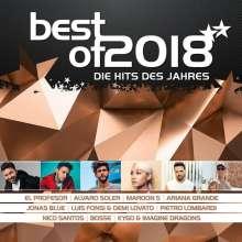 Best Of 2018: Die Hits des Jahres, 2 CDs
