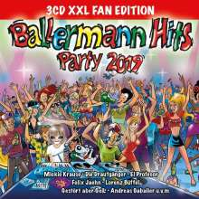 Ballermann Hits Party 2019 (XXL-Fan-Edition), 3 CDs
