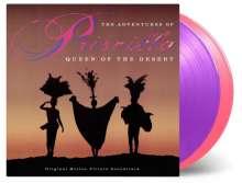 Filmmusik: Adventures Of Priscilla: Queen Of The Desert (180g) (Limited Numbered Edition) (Pink & Purple Vinyl), 2 LPs