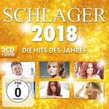 Schlager 2018: Die Hits des Jahres, 2 CDs