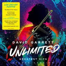 David Garrett: Unlimited: Greatest Hits (Deluxe-Edition), 2 CDs