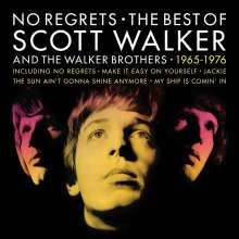 Scott Walker & The Walker Brothers: No Regrets: The Best Of Scott Walker And The Walker Brothers (180g), 2 LPs