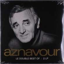 Charles Aznavour (1924-2018): Ses Plus Belles Chansons: Le Double Best Of, 2 LPs