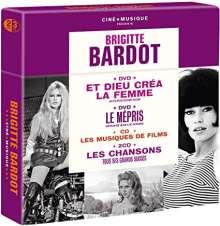 Brigitte Bardot: Brigitte Bardot Cine Musique, 3 CDs