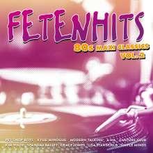 Fetenhits: 80s Maxi Classics Vol. 2, 3 CDs