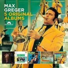 Max Greger: 5 Original Albums, 5 CDs