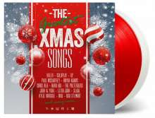 The Greatest Xmas Songs (180g) (Limited Numbered Edition) (White & Red Vinyl), 2 LPs