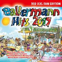 Ballermann Hits 2019 (XXL Fan-Edition), 3 CDs