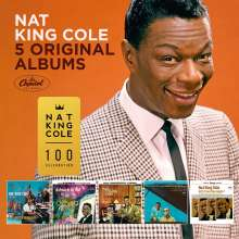 Nat King Cole (1919-1965): 5 Original Albums, 5 CDs