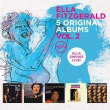 Ella Fitzgerald (1917-1996): 5 Original Albums Vol.2, 5 CDs
