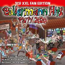 Ballermann Hits Party 2020 (XXL Fan Edition), 3 CDs