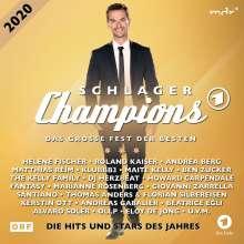 Schlagerchampions 2020: Das große Fest der Besten, 2 CDs
