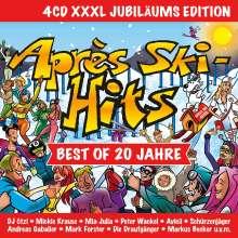 Apres Ski Hits - Best Of 20 Jahre (Jubiläums Edition), 4 CDs