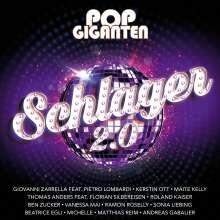 Pop Giganten - Schlager 2.0, 2 CDs