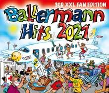 Ballermann Hits 2021 (XXL Fan Edition), 3 CDs