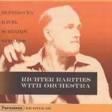 Svjatoslav Richter - RIchter Rarities with Orchestra, CD