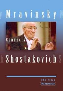 Yevgeni Mravinsky conducts Schostakowitsch, DVD