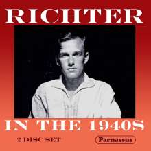 Svjatoslav Richter - Richter in the 1940s, 2 CDs