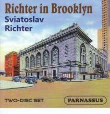 Svjatoslav Richter in Concert - Richter in Brooklyn, 2 CDs
