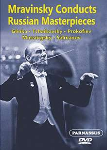 Yevgeni Mravinsky conducts Russian Masterpieces, DVD