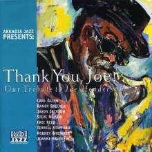 Arkadia Jazz All-Stars: Thank You,Joe-A Tribute, CD