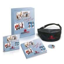 Feuerherz: Verdammt gute Zeit: Das Beste von Feuerherz (limitierte Fanbox), 1 CD, 1 Buch und 1 Merchandise