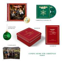 Angelo Kelly & Family: Coming Home For Christmas (limitierte Fanbox), 2 CDs, 1 Merchandise und 1 Buch