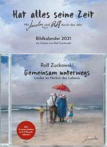 Rolf Zuckowski: Gemeinsam unterwegs: Lieder im Herbst des Lebens (limitierte Geschenkkalender Edition), CD