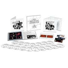 Van Der Graaf Generator: The Charisma Years (Limited Boxset), 17 CDs, 2 Blu-ray Audio und 1 Blu-ray Disc