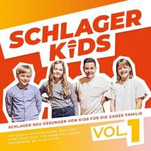Schlagerkids: Vol. 1 (von Kids für die ganze Familie), CD