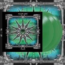 Killing Joke: Pylon (Reissue) (remastered) (Deluxe Edition) (Translucent Green Vinyl), 3 LPs