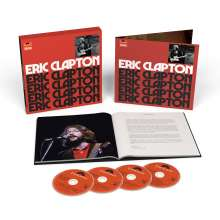 Eric Clapton: Eric Clapton (Limited Anniversary Deluxe Edition) (remastered), 4 CDs