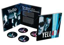 Yello: 40 Years (Limited Handnumbered Earbook), 4 CDs