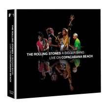 The Rolling Stones: A Bigger Bang: Live On Copacabana Beach 2006, 2 CDs und 1 DVD