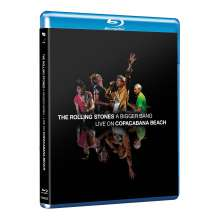 The Rolling Stones: A Bigger Bang: Live On Copacabana Beach 2006, Blu-ray Disc