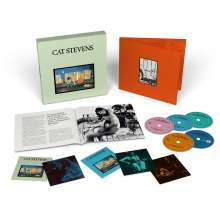 Yusuf (Yusuf Islam / Cat Stevens): Teaser And The Firecat (50th Anniversary Edition) (Remastered) (Limited Edition) (4CD + Blu-ray), 4 CDs und 1 Blu-ray Disc