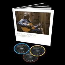 Eric Clapton: The Lady In The Balcony: Lockdown Sessions (Limited Edition), 1 DVD, 1 Blu-ray Disc und 1 CD