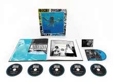 Nirvana: Nevermind (30th Anniversary Edition) (Limited Boxset) (5CDs + Blu-ray), 5 CDs und 1 Blu-ray Disc