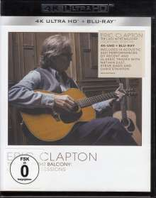 Eric Clapton: The Lady In The Balcony: Lockdown Sessions (Limited 4K Ultra HD Blu-ray), 2 Ultra HD Blu-rays