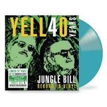 "Yello: Jungle Bill - Reborn in Vinyl (Limited Edition) (Blue Vinyl), Single 10"""