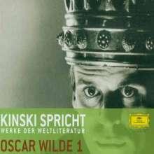 Filmmusik: Kinski spricht Werke der Weltliteratur - Oscar Wilde I, CD