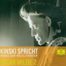 Kinski spricht Werke der Weltliteratur - Oscar Wilde II, CD