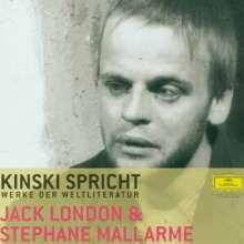 Kinski spricht Werke der Weltliteratur - Jack London &, CD