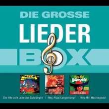 Die große Lieder-Box, 3 CDs