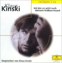Klaus Kinski - Ich bin so wild nach deinem Erdbeermund, CD