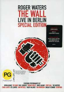 Roger Waters: The Wall - Live In Berlin 21.7.1990 (Special Edition), DVD