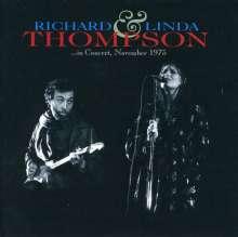 Richard & Linda Thompson: In Concert November 1975, CD
