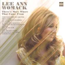 Lee Ann Womack: There's More Where That Came From, CD