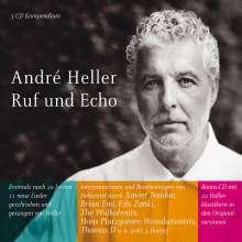 Andre Heller: Ruf & Echo, 3 CDs
